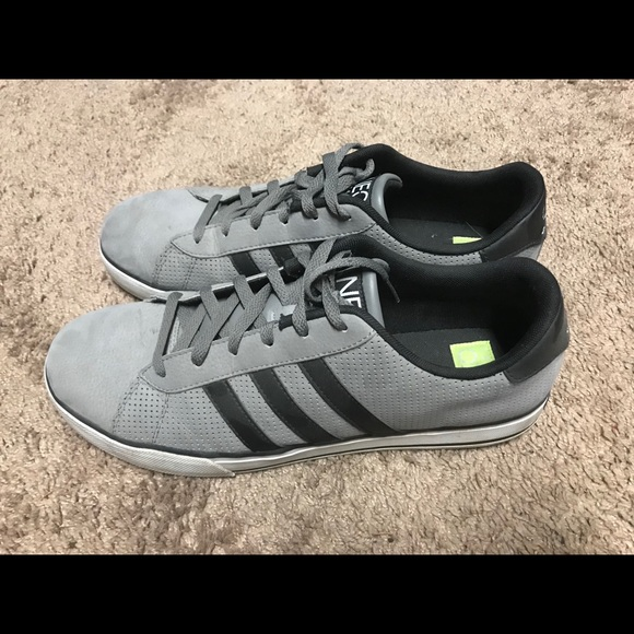 Adidas NEO Size 12 Mens Shoes - Grey